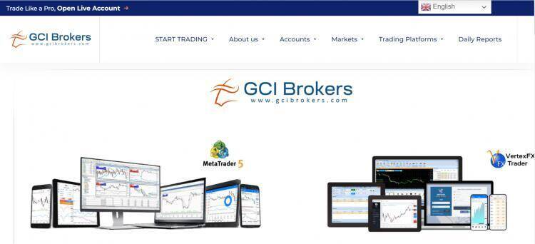Descripción general de GCI Broker